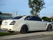 Пороги для Mercedes-Benz(W221) Long