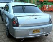 Козырек для Chrysler 300 C до 2011г.
